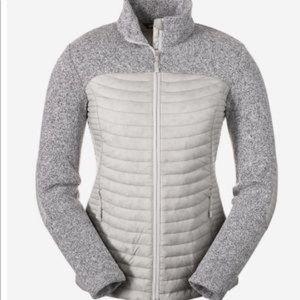 EddieBauer Microtherm Hybrid Spring Sweater Jacket